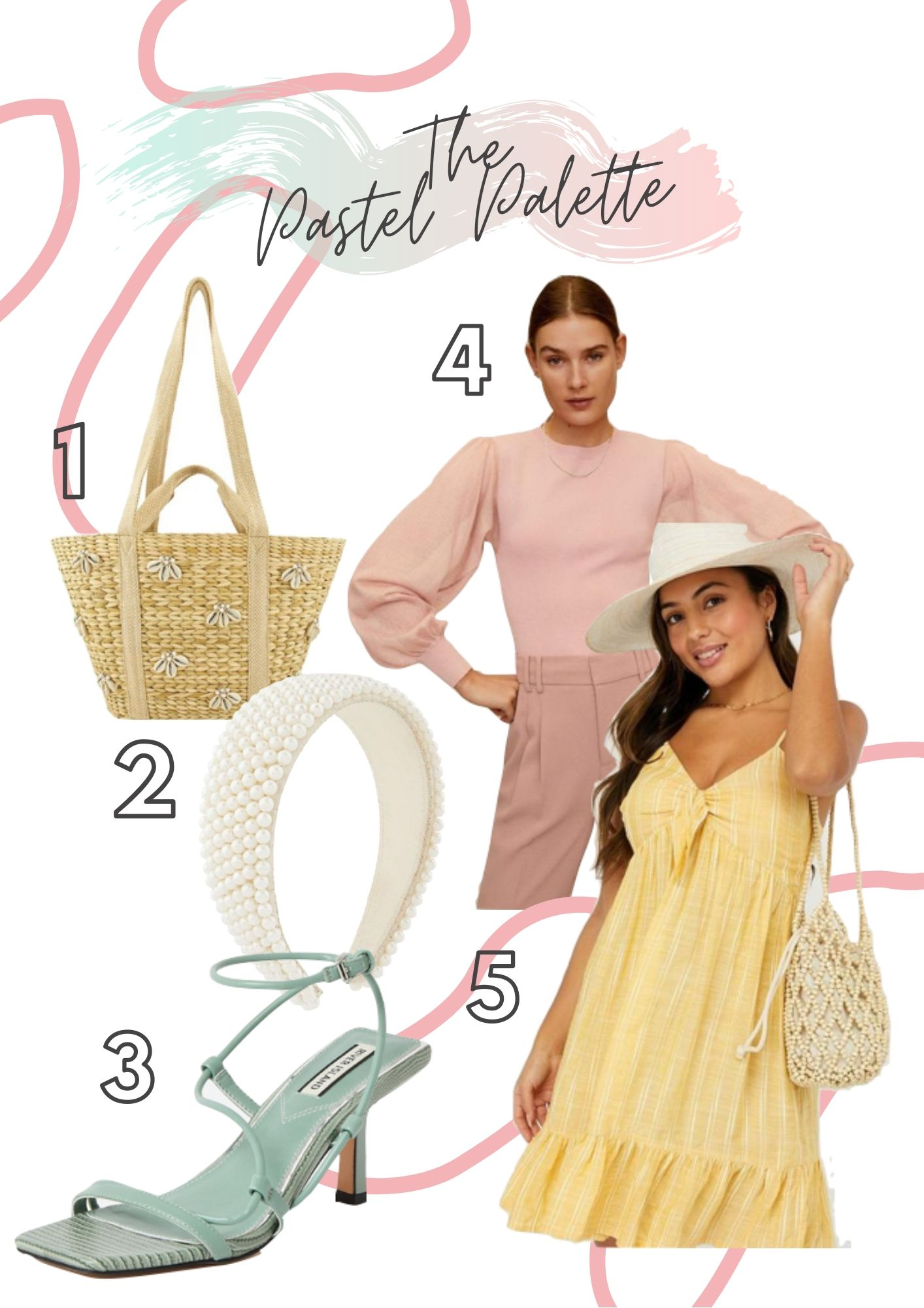 Summer Styling, Very Pastel Palette