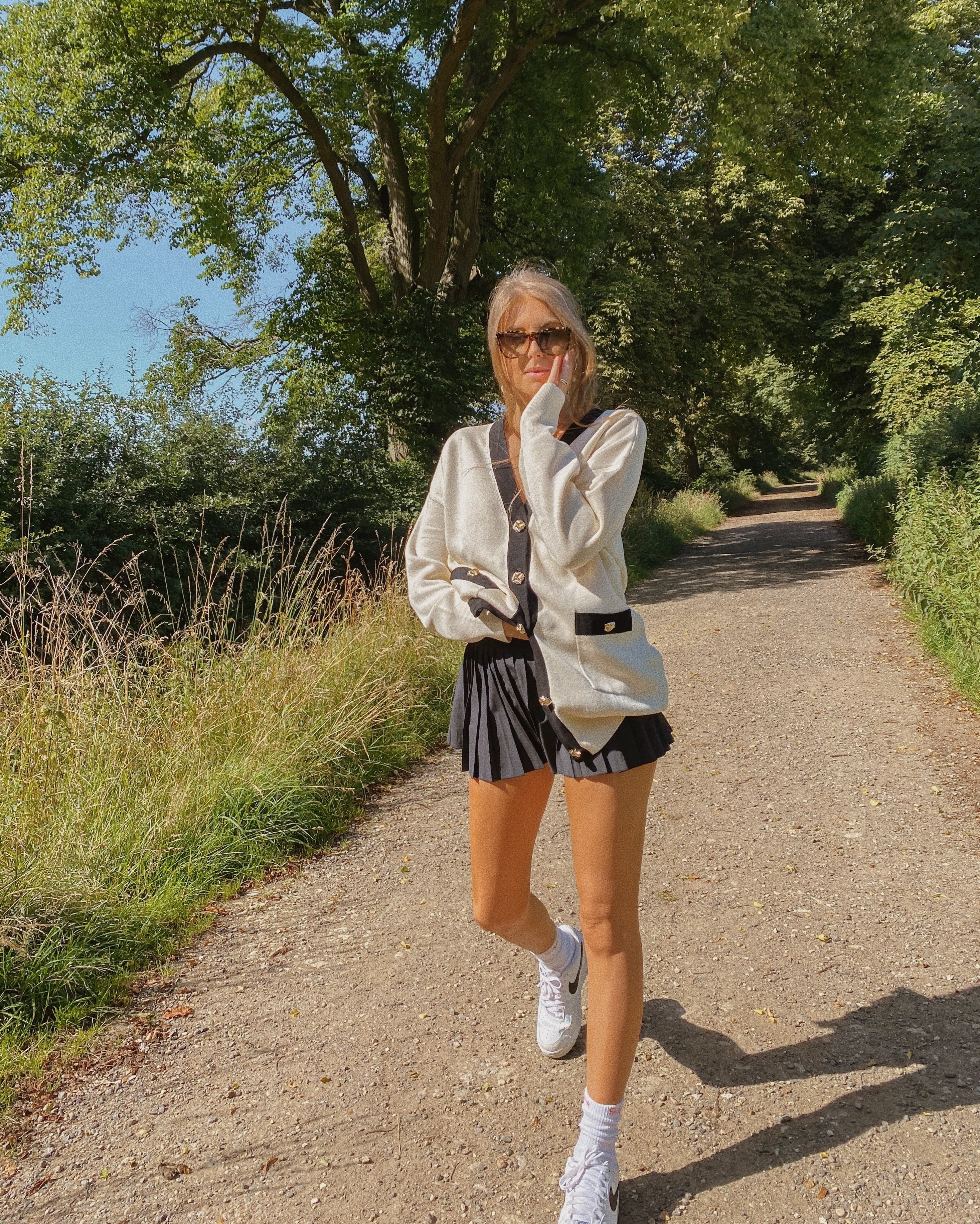 Nike Tennis Skirt Outfit Ideas Love Style Mindfulness Fashion Personal Style Blog