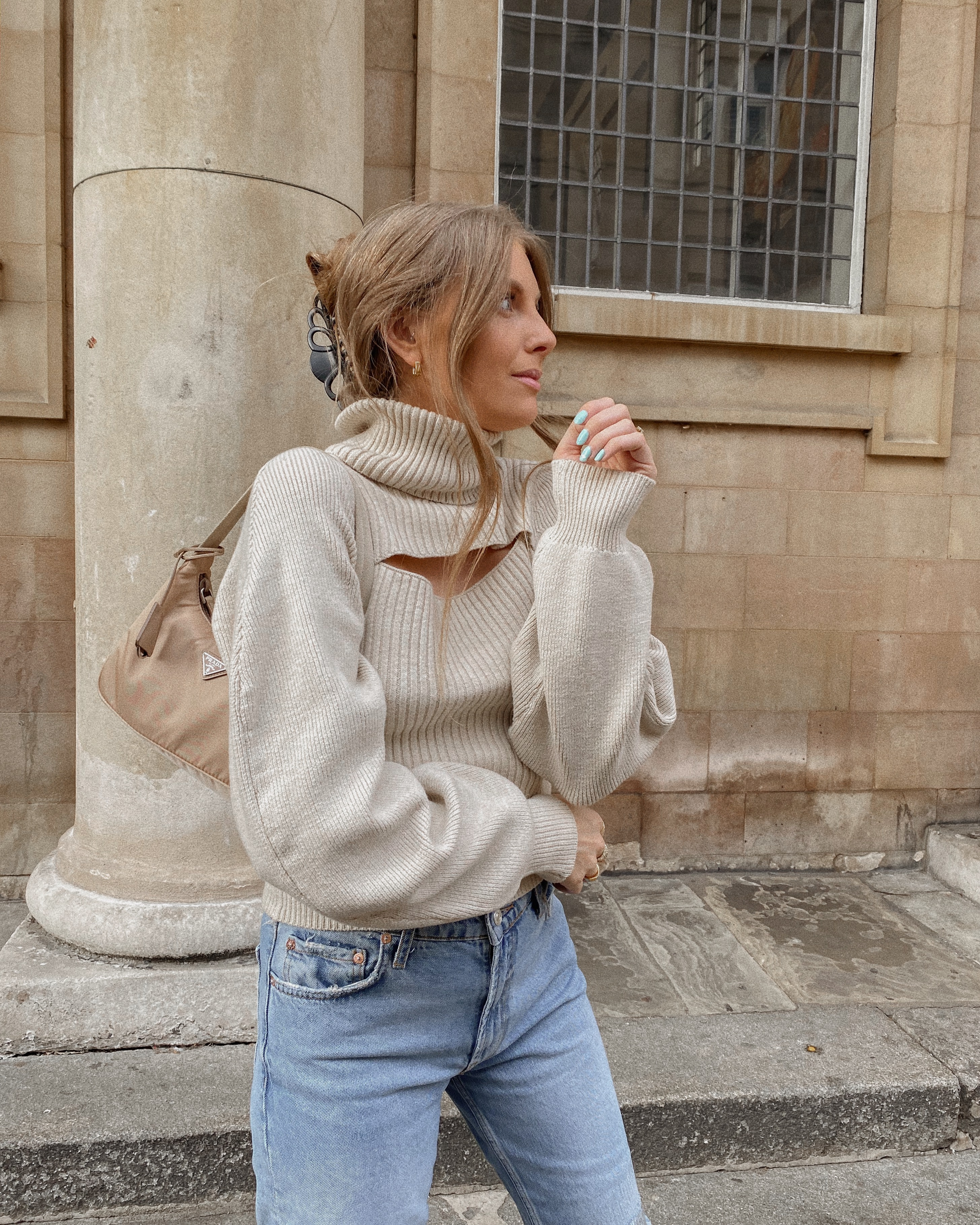 Autumn Knits - Free People Cut Out Jumper