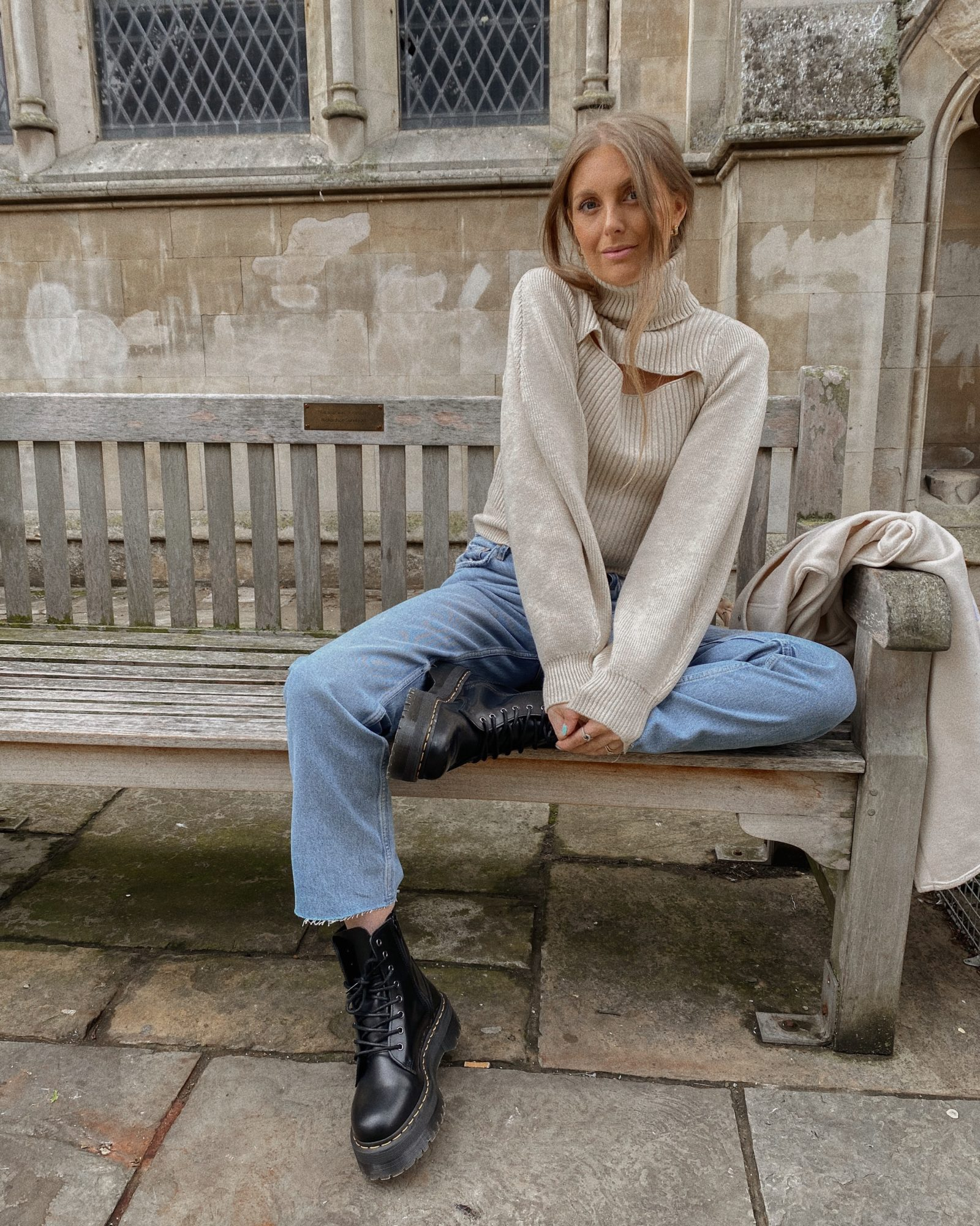 Autumn Knits - Free People Roll Neck Jumper