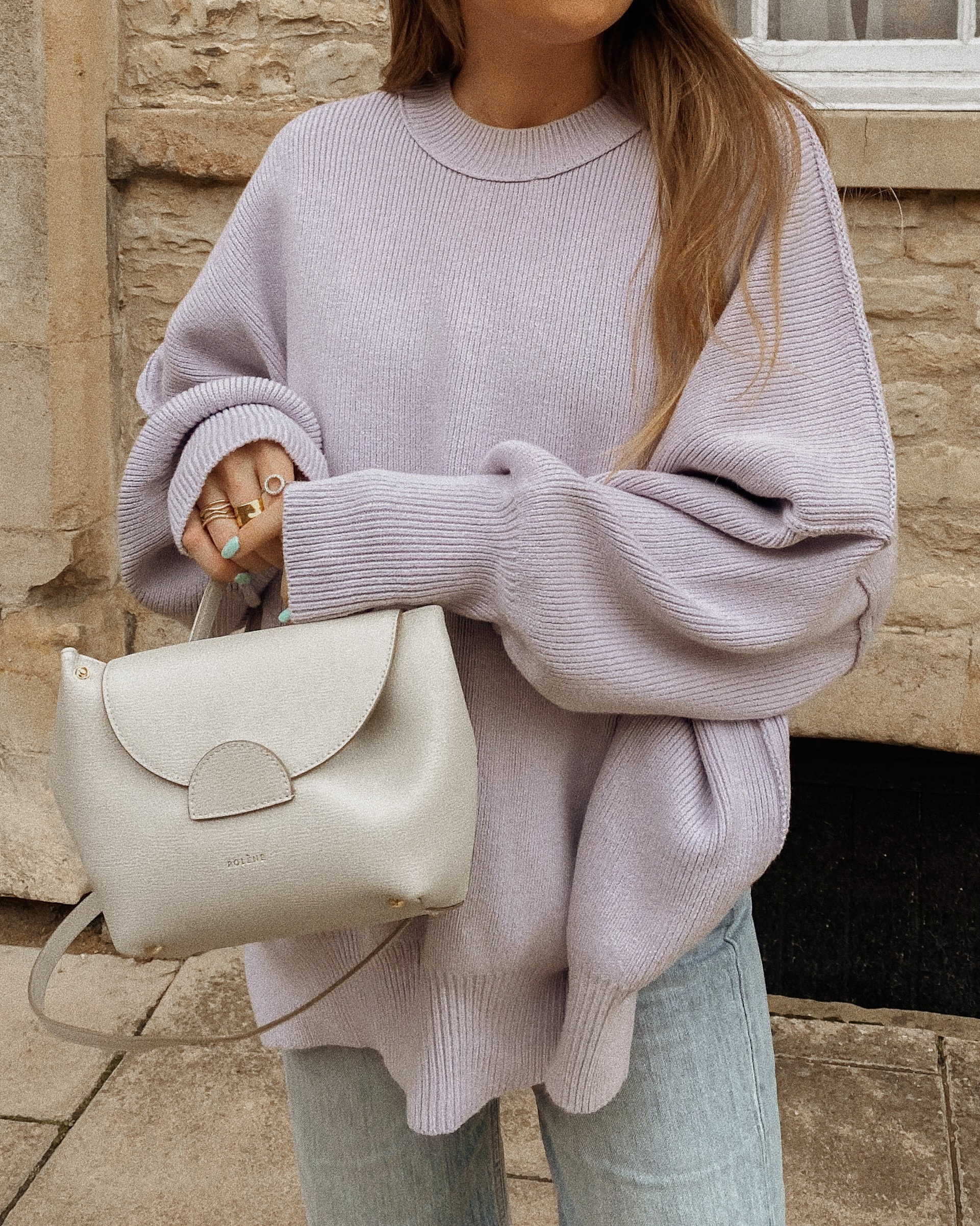 Free People Lilac Jumper - Autumn Outfit