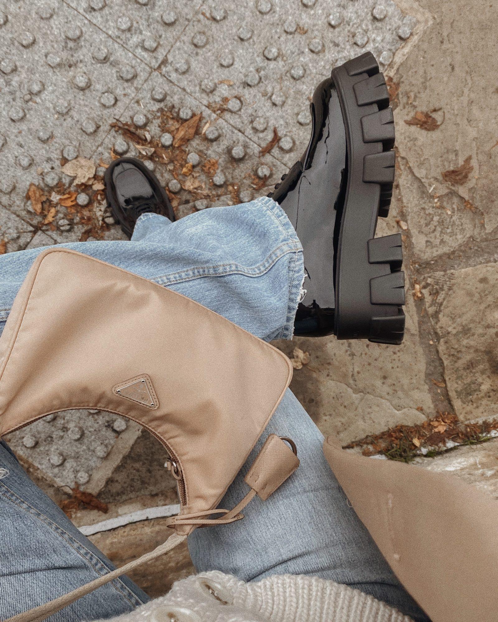 3 Autumn Investment Pieces - Prada Derby Shoes