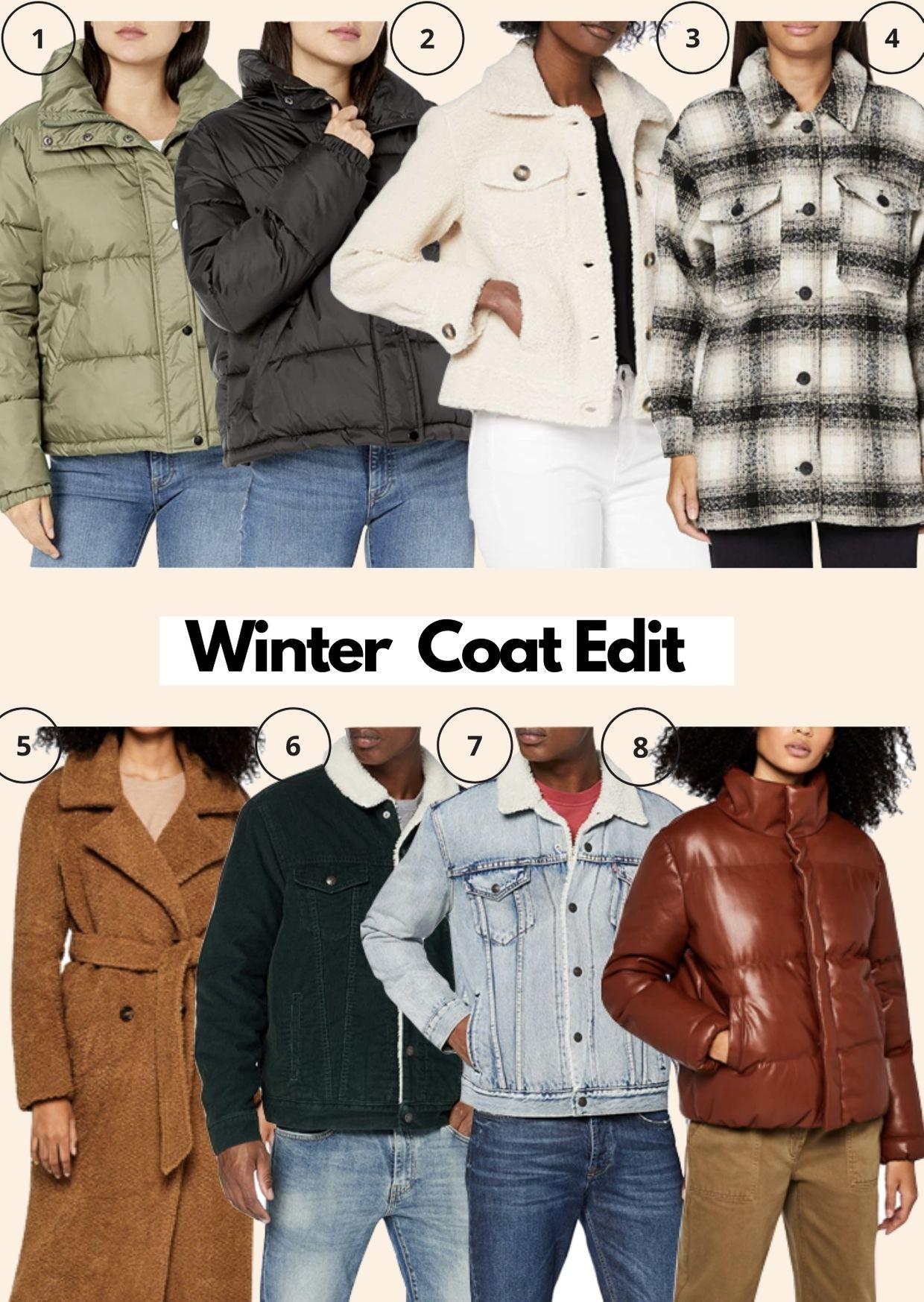 Amazon Fashion Winter Coat Edit