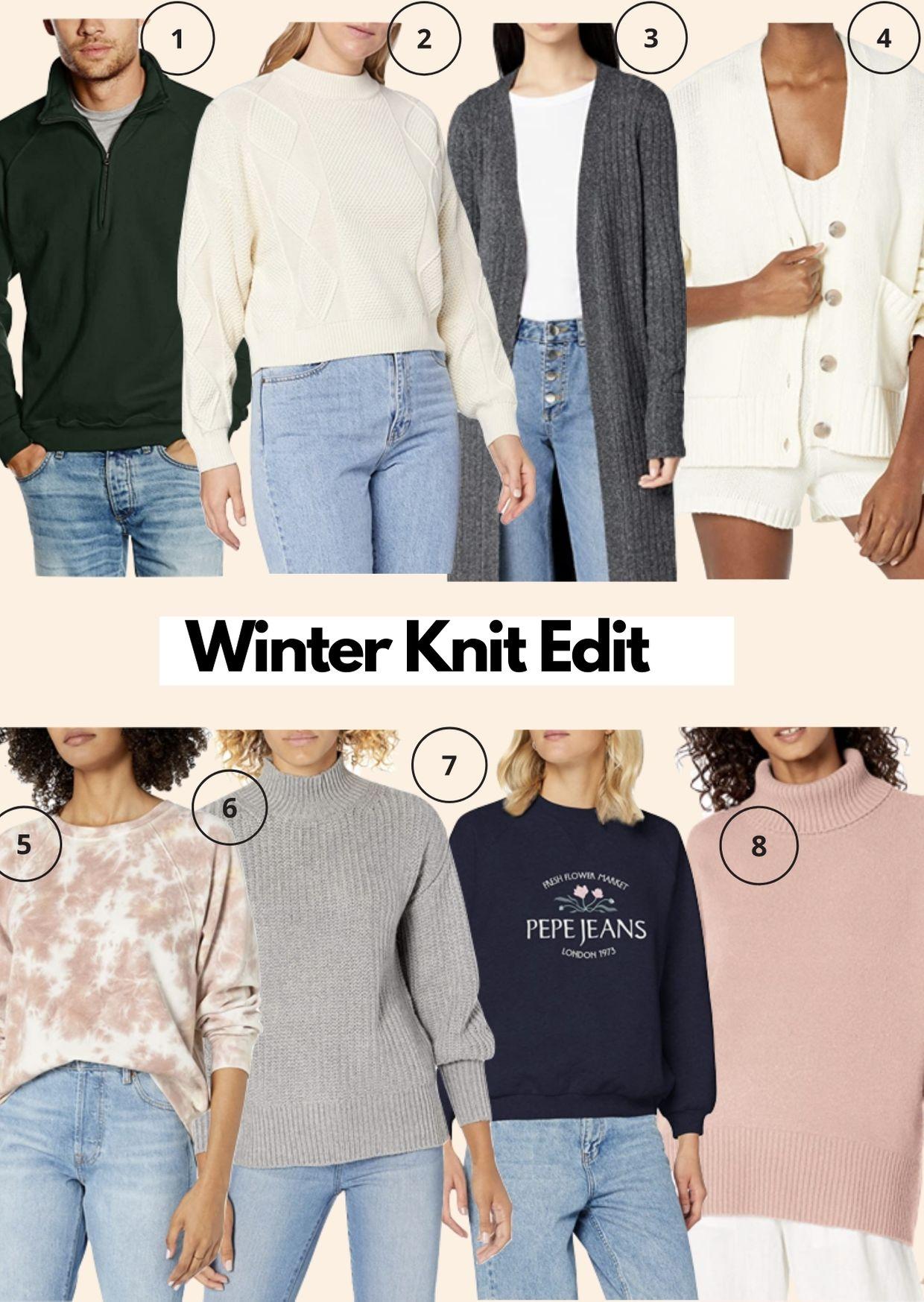 Amazon Fashion Winter Jumper Edit