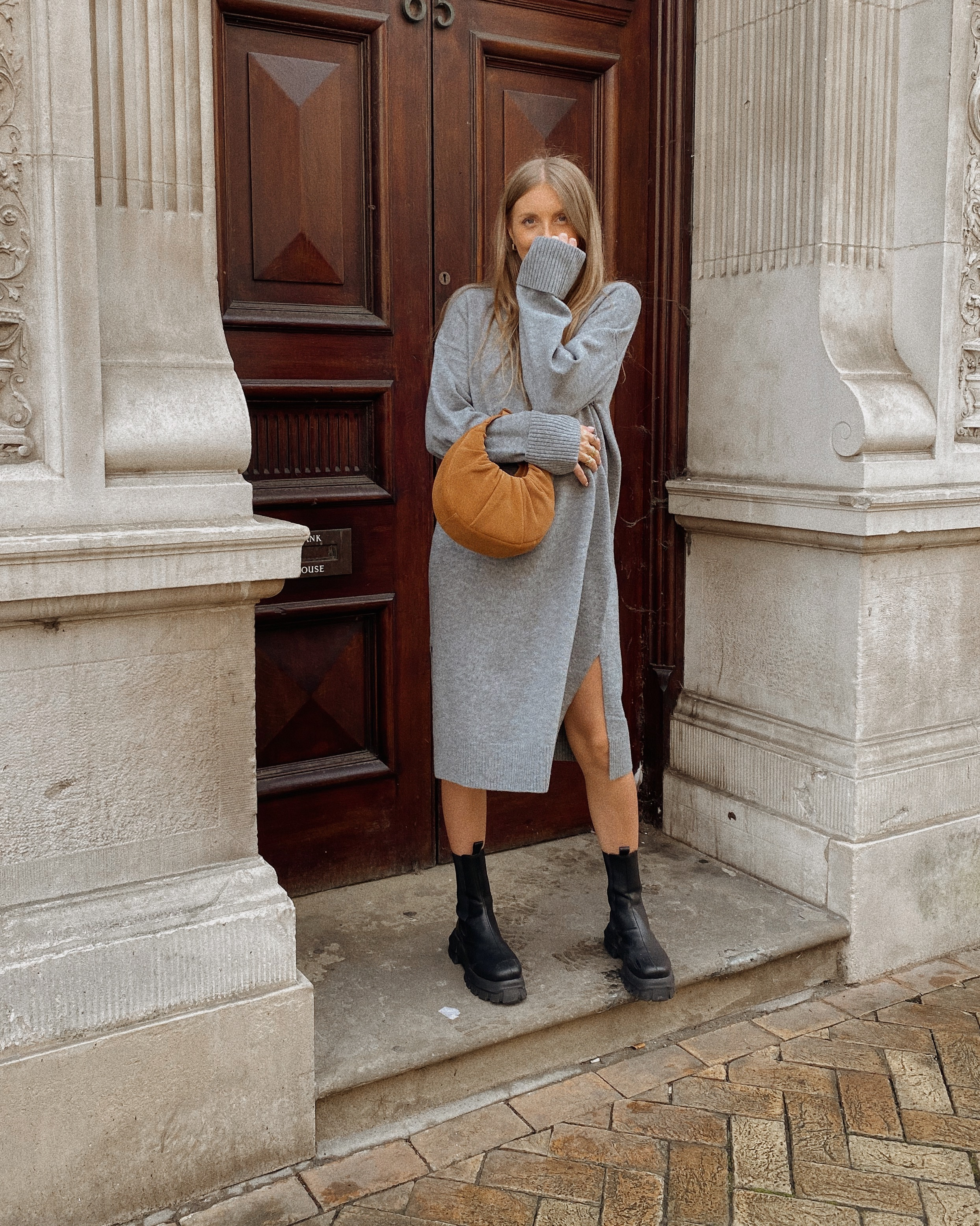 Jumper Dress Outfit Ideas - Winter Outfit Ideas