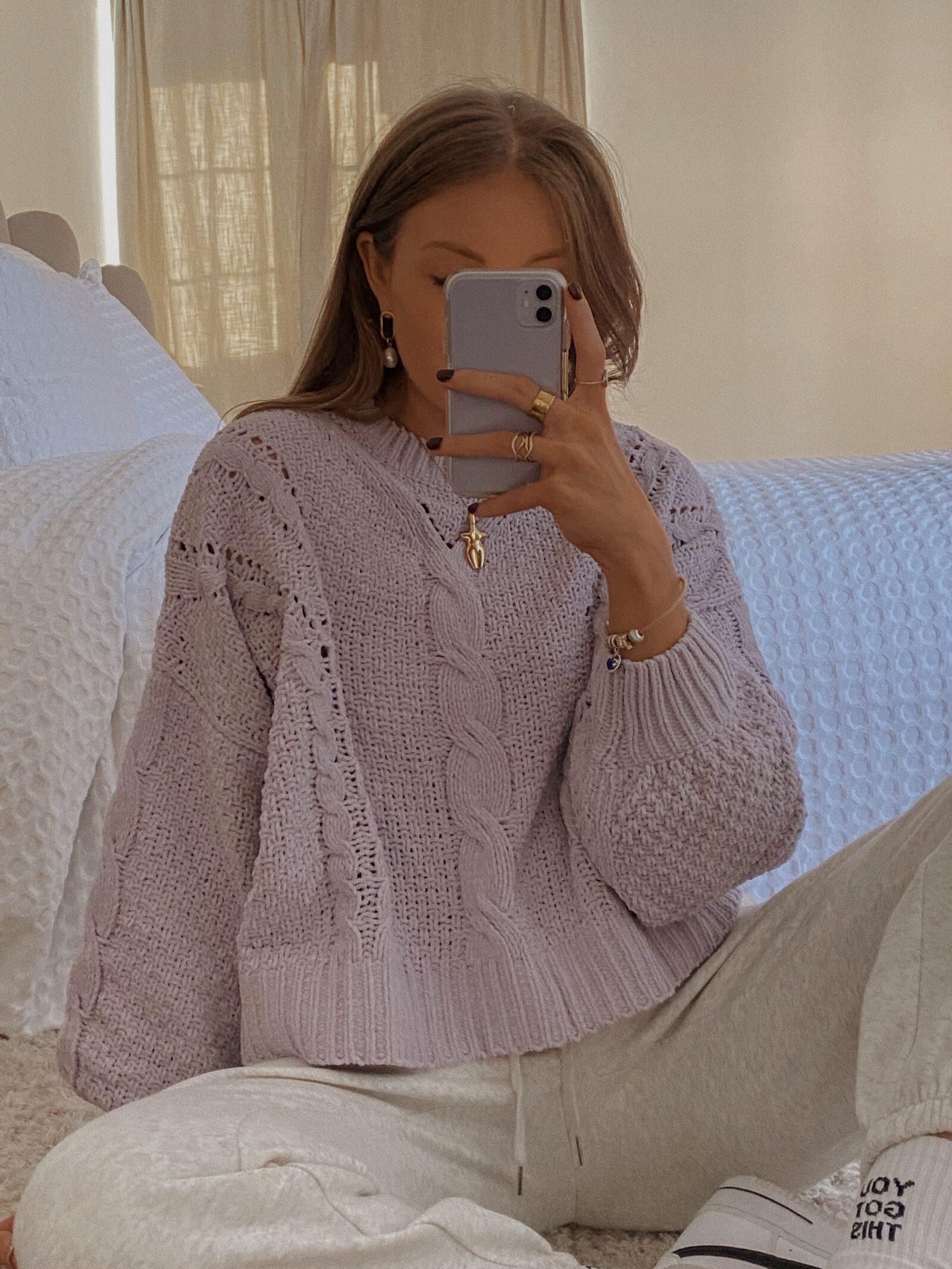 Amazon Black Friday Deals - Amazon Fashion Lilac Jumper