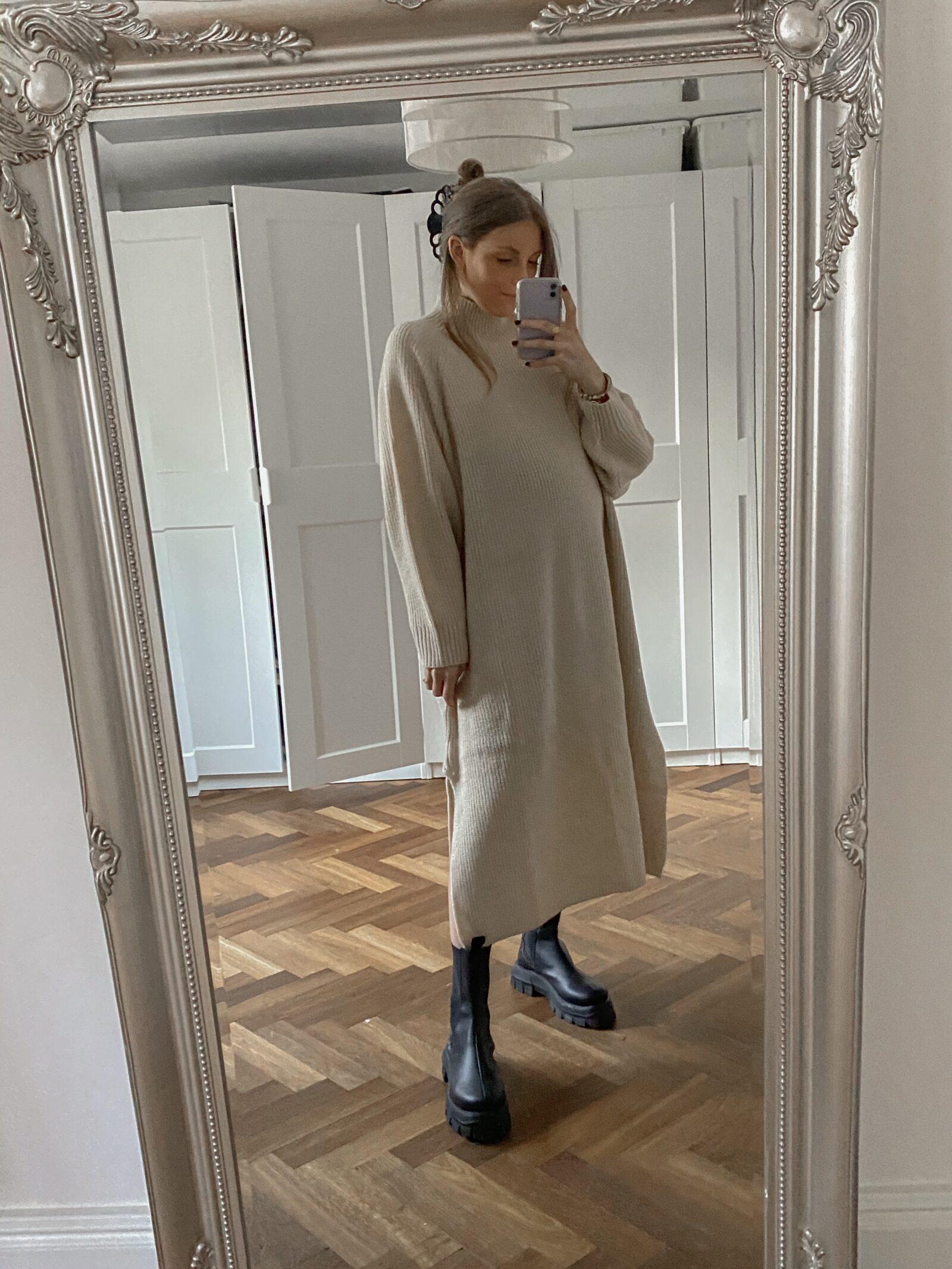 Monki Winter Haul - Cream Jumper Dress