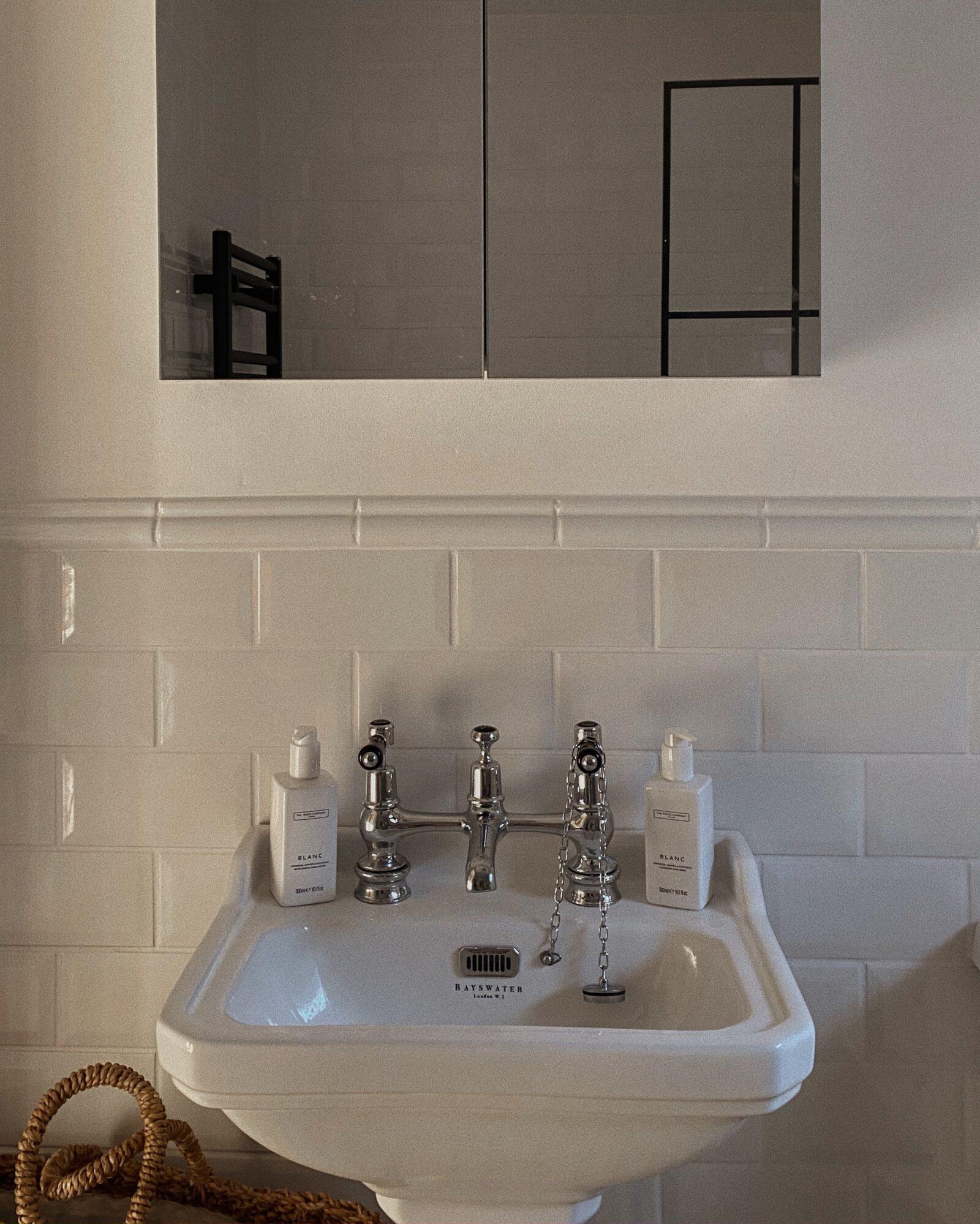 DIY Bathroom Makeover - Burlington Sink