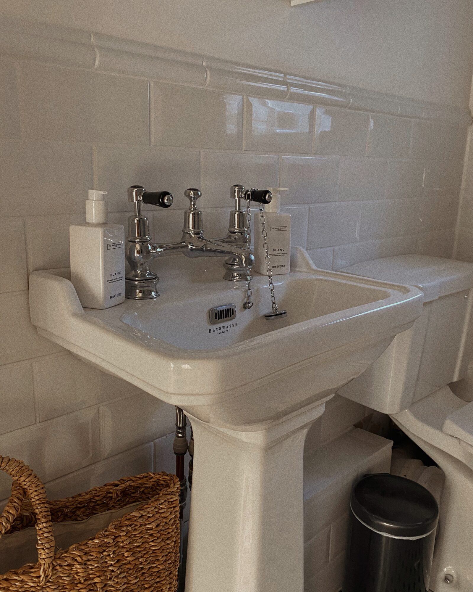 DIY Bathroom Makeover - The White Company Soaps