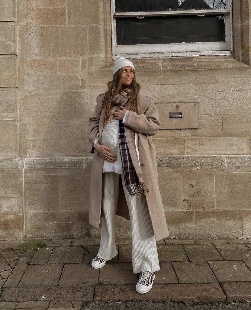 H&M Loungewear Favourites - White Knitted Loiungewear