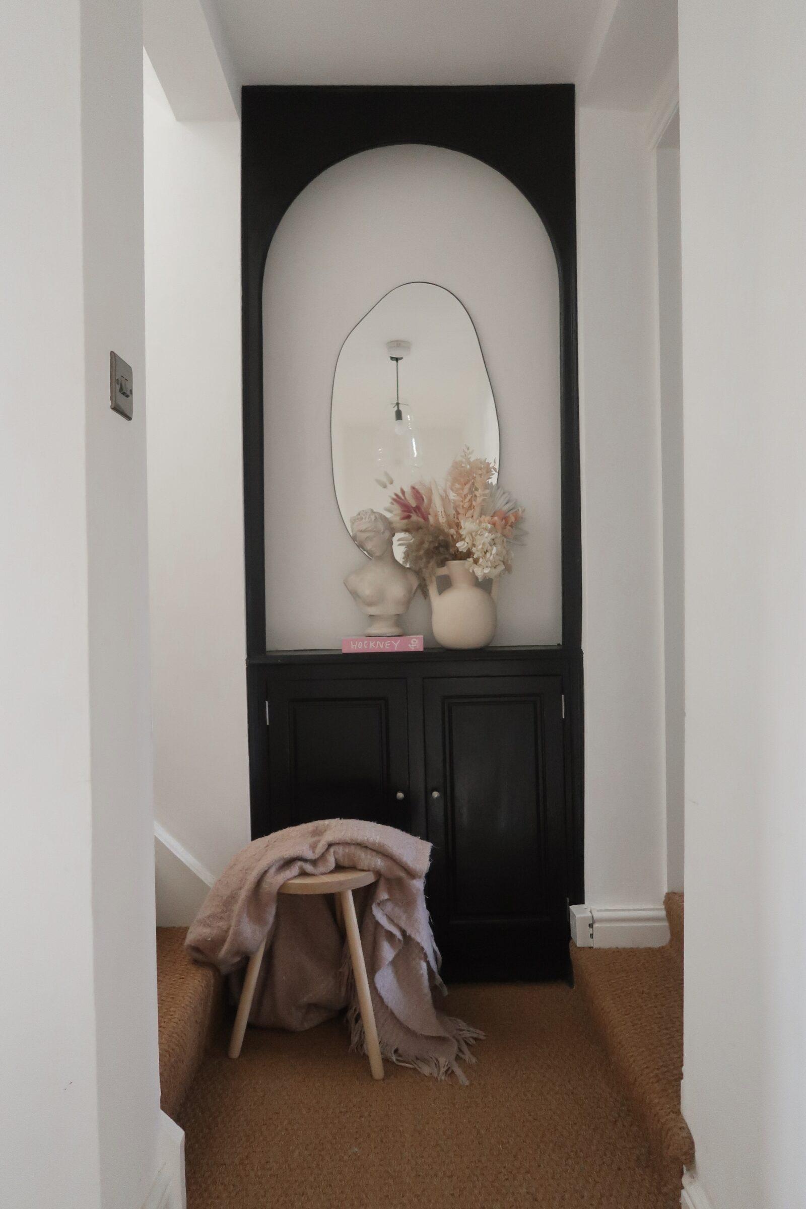 Hallway Decorating Ideas - Monochrome Decor