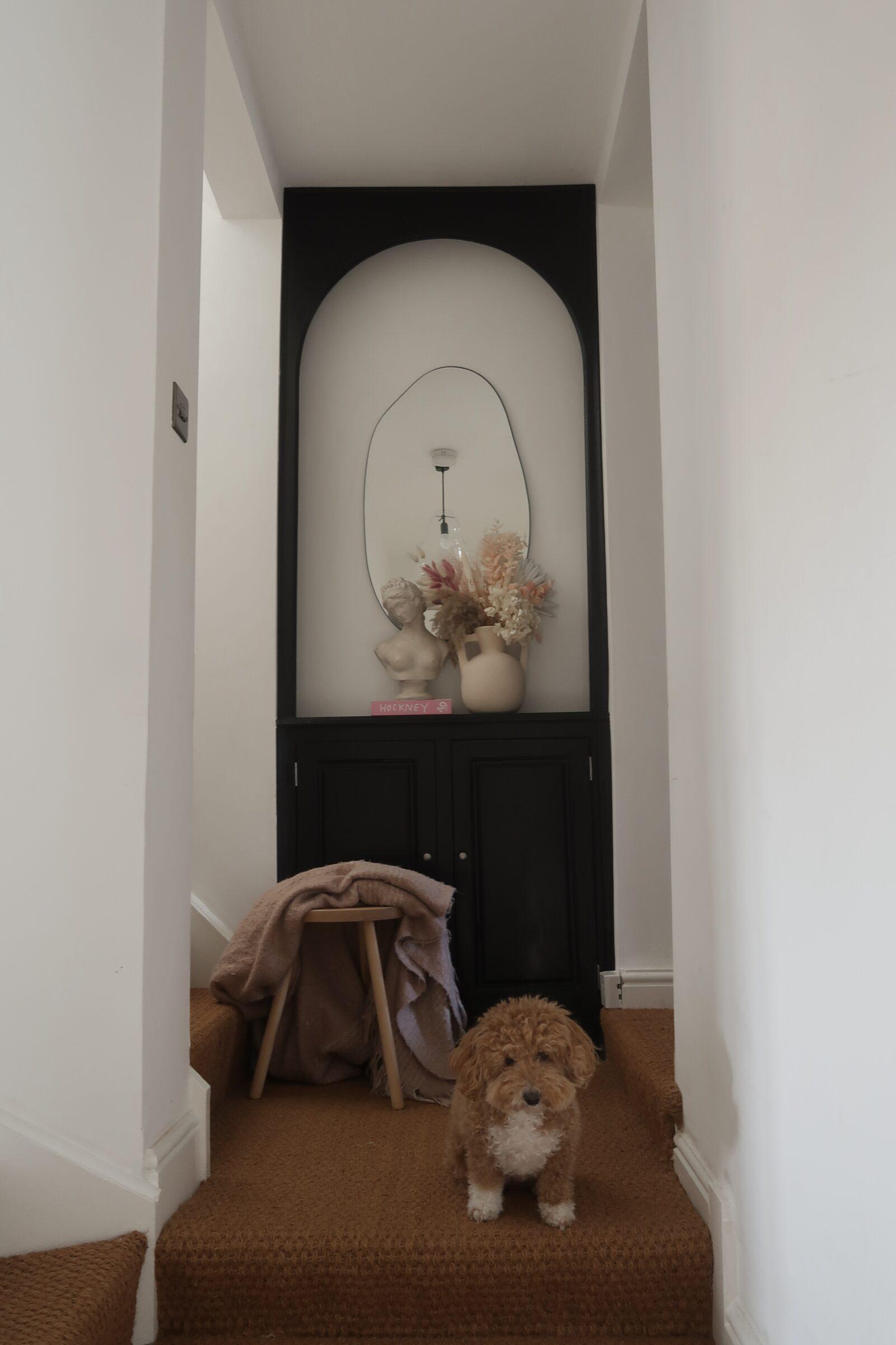 Hallway Decorating Ideas - Neutral Decor