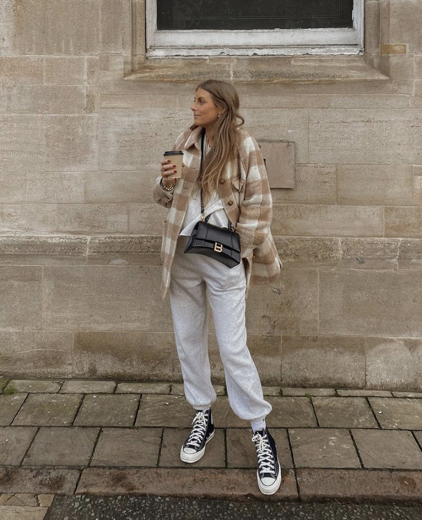 & Other Stories Loungewear Favourites - Check Shacket