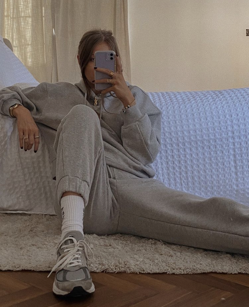 & Other Stories Loungewear Favourites - Grey Tracksuit