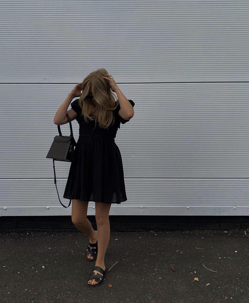 Amazon Fashion Black Mini Dress