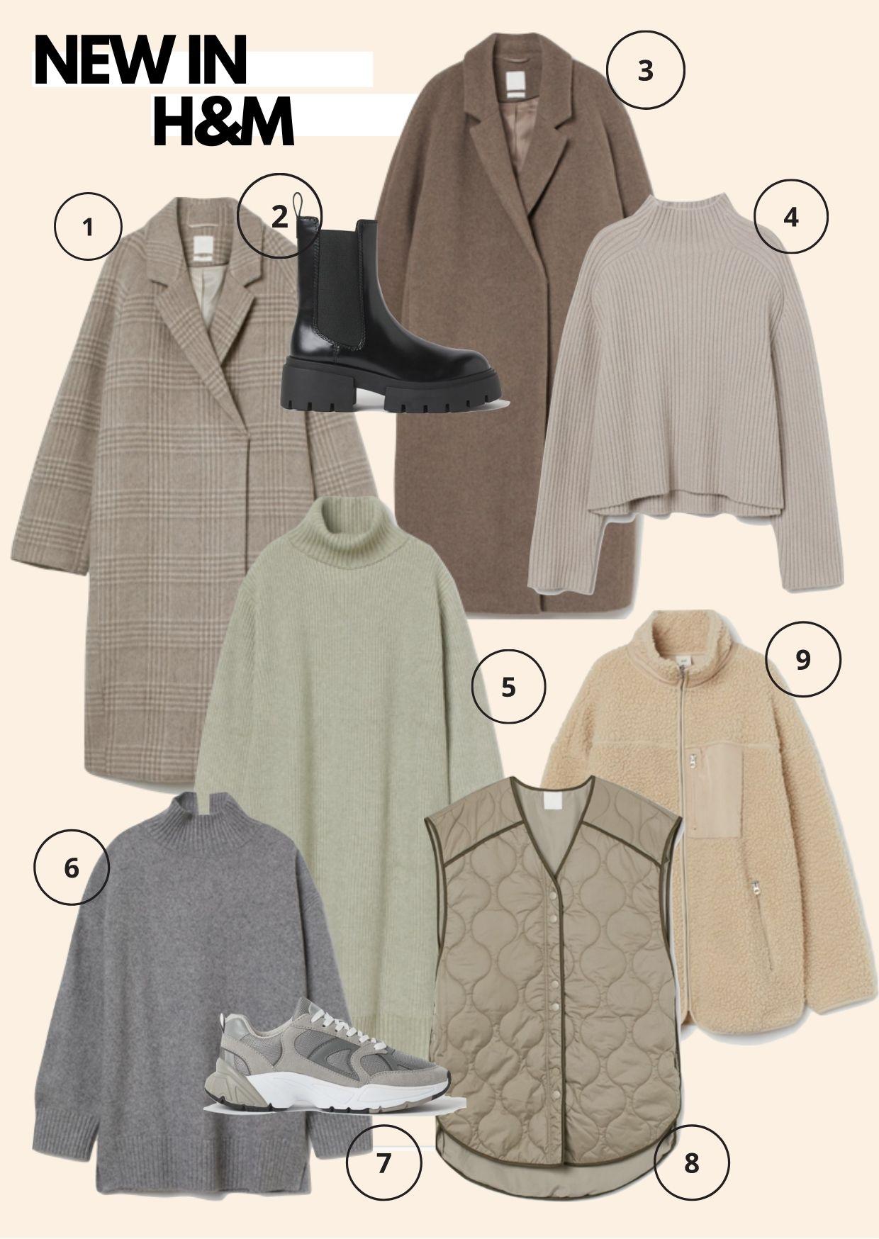 new in H&M autumn winter
